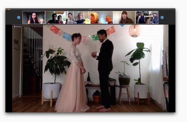 [香港婚禮新聞] 當您的朋友因冠狀病毒大流行而在Zoom上結婚時